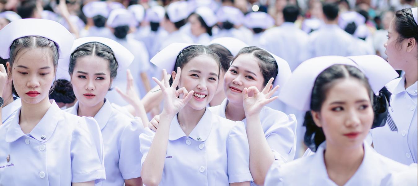 ขอแสดงความยินดีกับนักศึกษาคณะพยาบาลศาสตร์ ชั้นปีที่ 2 รุ่นที่ 23